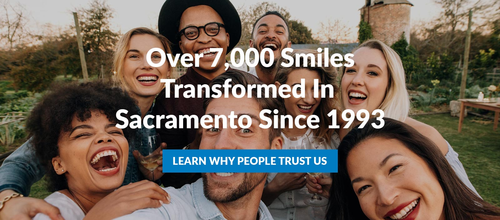 over 7000 smiles transformed since 1993